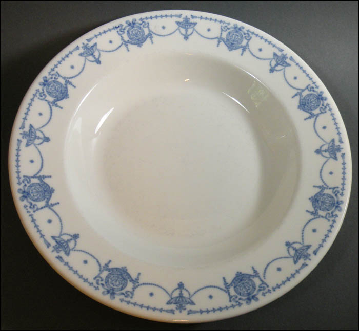 Blue Adam Soup Plates u2013 Syracuse China & Blue Adam Soup Plates u2013 Syracuse China - $10.00 : Tygart Trading ...