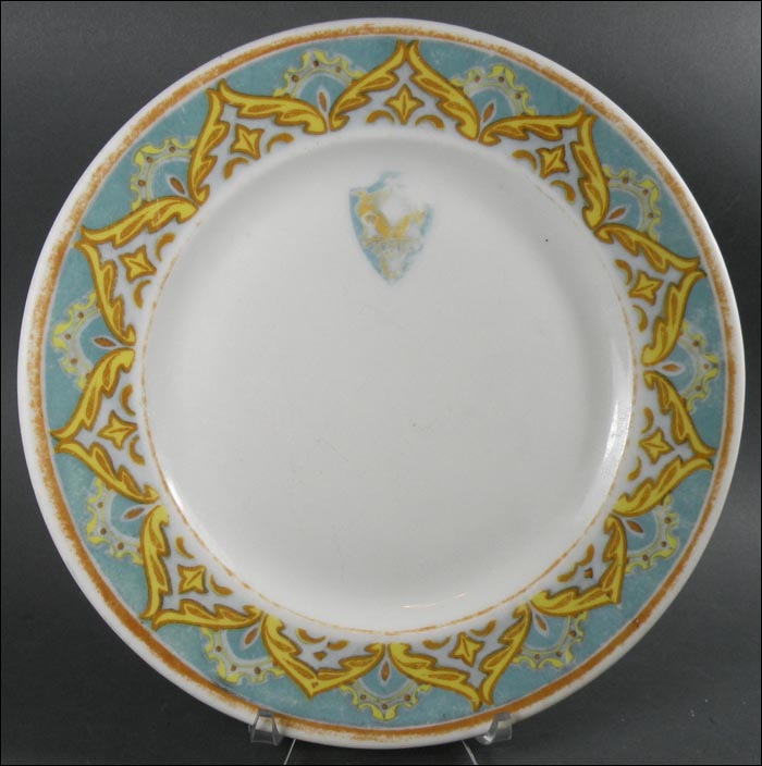 Deshler Wallick Hotel Cake or Toast Cover and Pie Plate & Deshler Wallick Hotel Cake or Toast Cover and Pie Plate - $45.00 ...